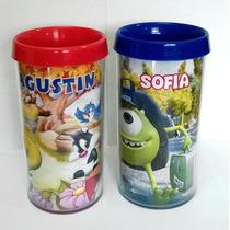 20 Vasos O Tazas Plasticos Con Diseño Souvenir