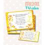 Tarjeta De 15 Para Imprimir - Invitación Y Personal Dahiana