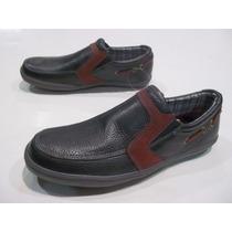 Zapatos Dunlop Mocasin Cuero Mike Hombre Lavalledeportes