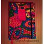 Cuaderno Artesanal De Tela Liso 100 Hojas 15,5x21 Cm Ventana
