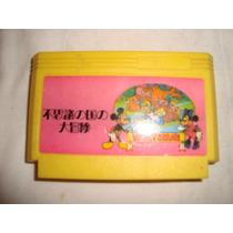 Family Game Mickey Mouse Cartucho Cartridge En Caballito