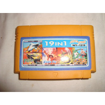 Family Game 19 En 1 Cartucho Cartridge En Caballito