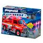 Camion Bomberos Playmobil 5980 Luz Y Sirena Juguetes Lloret