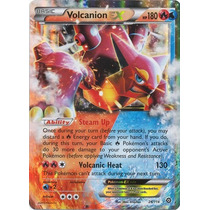 Cartas Pokemon Volcanion Ex Mint