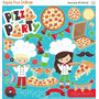 Kit Imprimible Pizza Party 3 Imagenes Clipart