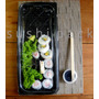Bandeja Plastica Descartable. Ideal Sushi 35/45 Pzas