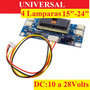 Universal 4 Lamparas Inverter Backlight Monitor Tv Lcd Ve38