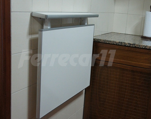 Mesa rebatible plegable para cocina desayunador mesadas - Mesas cocina plegable ...