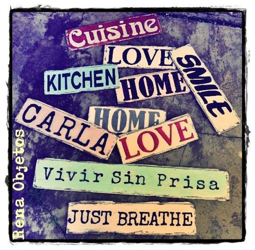 Carteles cuadros vintage palabras retro madera reciclada otros a ars 90 en preciolandia - Carteles retro ...