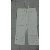 Pantalón Capri. Color Blanco Tiza. T Xs. Miralo!!!!