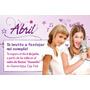 Invitaciones Personalizadas Con Violetta