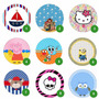 Etiquetas Personalizadas Autoadhesivas Stickers X 100u