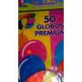 Bolsa De 50 Globos Fluor