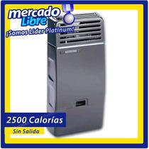 Calefactor Volcan 2500 Calorias, Sin Salida, Infrarojo.