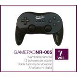 Joystick Wii Dual Shock 8 Botones Blanco **oferta**