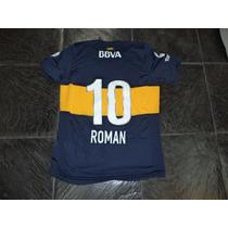 Camiseta Boca Juniors 2012-2013 N°10 Juan Roman Riquelme