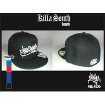 Gorra Visera Plana Hip Hop Killa Cypher. Rap