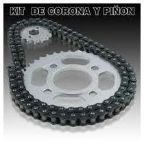 Transmision Corona Piñon Y Cadena Guerrero Dl Top 110