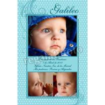 Bautismos: Estampitas, Libro De Firmas, Poster, Invitaciones