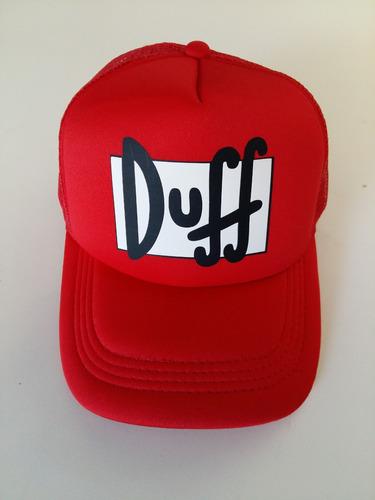 Gorra Duff Cerveza De Los Simpsons Trucker. Precio    250 Ver en  MercadoLibre a7bdaef0df3
