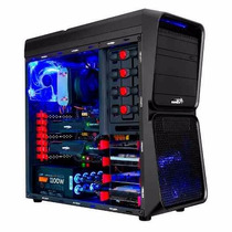 Gabinete Pc Gamer Sentey Seeker Gs-6080 Coolers Ventana Usb3