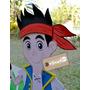 Jake Y Los Piratas Cumple Tematico | Figuras En Goma Eva