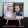 Princesita Sofia Souvenirs Infantiles Atril Cumpleaños X 10