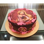Imagen Comestible Personalizada Foto Torta Cupcakes Violetta