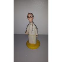 Adorno Papa Francisco Porcelana