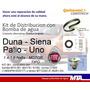 Kit Distribución + Bomba Agua Palio Uno Duna Siena 1.4 1.6