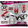 Kit Grafica Calco Honda Crf 250 - 06/09 - Grueso Competicion