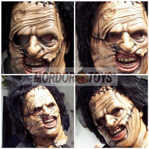 Masacre De Texas Máscara Leatherface Halloween Mordortoys