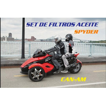 Kit De Filtros Can-am Spyder 990 Rt-rs-gt Hiflo Filtro