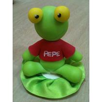 Souvenirs Del Sapo Pepe En Porcelana Fría