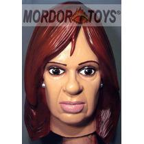 Cristina Fernandez Kirchner Máscara Presidente Halloween