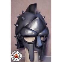 Gladiador Máscara De Látex Medieval Halloween Mordortoys