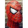 Spiderman Máscara De Látex Hombre Araña Halloween Mordortoys