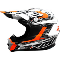 Casco Zeus 901l Cross Enduro Varios Atv En Freeway Motos !!