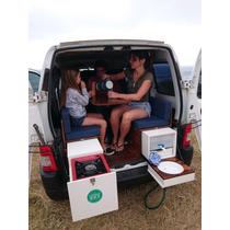 Kit Camping Motorhome Rodante Para Partner Kangoo Berlingo