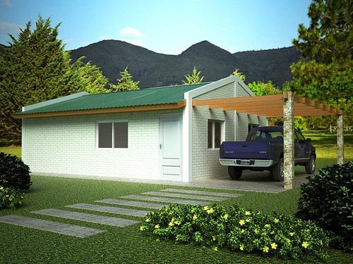 Casa ladrillo material construccion rapida prefabricada - Precio construccion casa ...