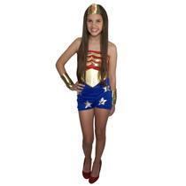 Disfraz De Mujer Maravilla Para Niña - Wonder Woman