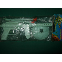 Antigua Pistola Espacial Cebitas Y Sopapa Japon Blister