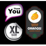 Sticker Calco Etiquetas Adhesivas Troquelada Color X10 Hojas