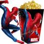 Kit Imprimible Hombre Araña Spiderman Cotillon Candy Bar 2x1