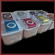 Mp3 Clip Radio Fm Auriculares Cable Usb Caja En Caseros