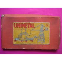 Unimetal Silmil Mecano Distribuido Por Matarazzo Circa 1950