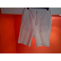 Bermuda De Banana Republic Talle L 44/48 Color Blanco.
