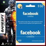 Facebook Credits 50 Usd - Gamespy
