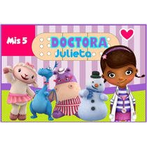Doctora Juguetes Kit Imprimible Candy Bar Hotsale