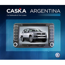 Estereo Vw Amarok Caska - Gps Dvd Bluetooth Ipod Mp3 Etc